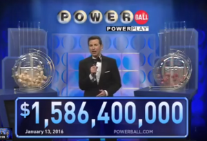 powerball jackpot record 13 januari 2016